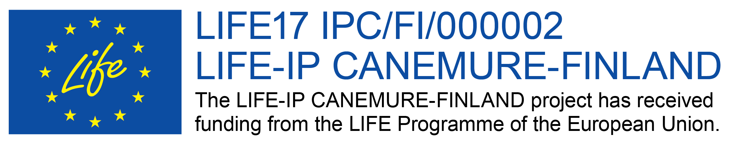 The LIFE-IP CANEMURE-FINLAND project has received funding from the LIFE Programme of the European Union.
